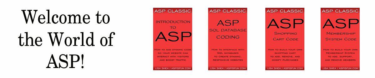 ASP Is Fun