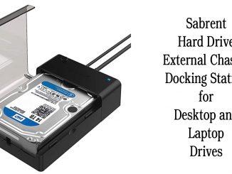 Sabrent Hard Drive External Chassis Docking Station for Desktop and Laptop Drives