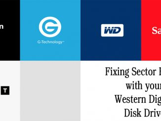 Fixing Sector Errors with your Western Digital Disk Drive